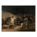 Le tiers de mai 1808 poster