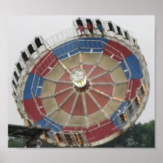 Le tour de parc d'Amusment de rassemblement Poster