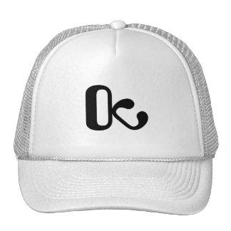 Le Trucker hat white/black OctopusChicky logo Casquettes De Camionneur