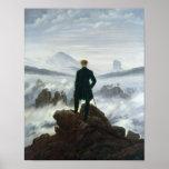 Le vagabond au-dessus de la mer du brouillard, 181 posters