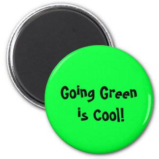 Le vert allant est frais ! Aimant