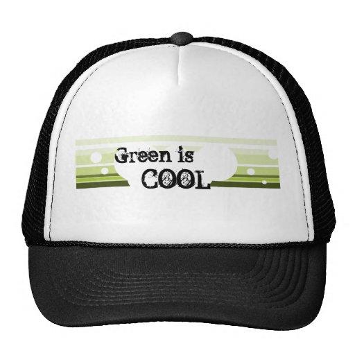 Le vert est, COOL - chapeau Casquette De Camionneur