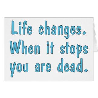 Leben-Änderungen Karte