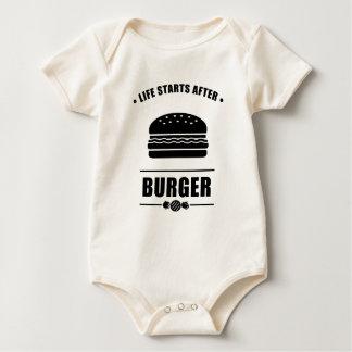 Leben-Anfänge nach BURGER_NO BG Baby Strampler