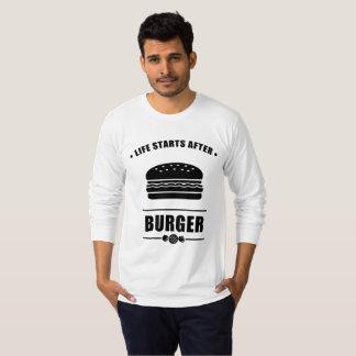 Leben-Anfänge nach BURGER T-Shirt