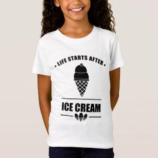 Leben-Anfänge nach EISCREME T-Shirt