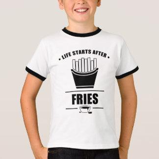Leben-Anfänge nach FISCHROGEN T-Shirt