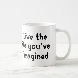 Leben das Zitatkaffee-Tassengeschenk des Lebens Kaffeetasse