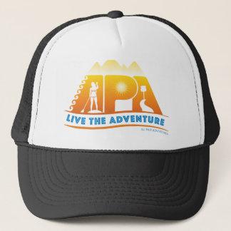 Leben der Abenteuer-Gewohnheits-Hut Truckerkappe