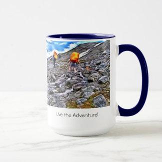 Leben die Abenteuer-Tasse Tasse