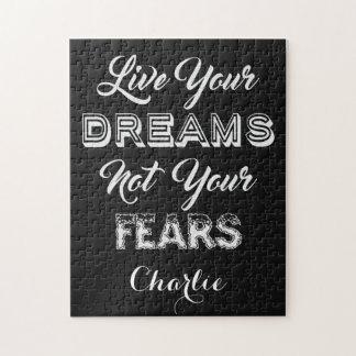 Leben Ihr Traum-individueller Name u.