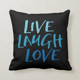 Leben Lachen-Liebe Kissen