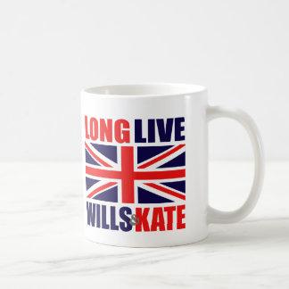 Leben lang Willen u. Kate Tasse