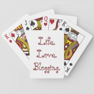 Leben. Liebe. Blogging. Spielkarten