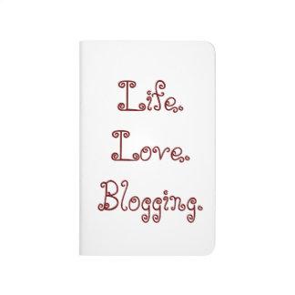 Leben. Liebe. Blogging. Taschen-Zeitschrift Taschennotizbuch