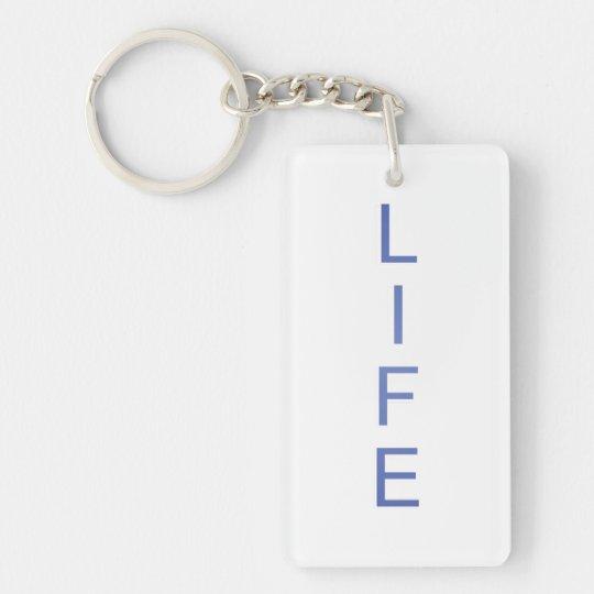 Leben-moderne coole Farbe Schlüsselanhänger