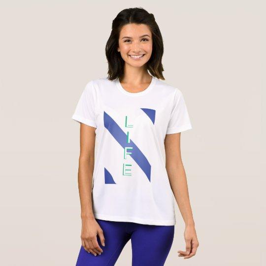 Leben-moderne coole Farbe T-Shirt