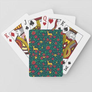 Leben-Symbole Frida Kahlos | Spielkarten
