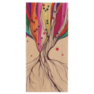 Lebende Baum-Kunst durch Alia, hölzerne greller Holz USB Stick