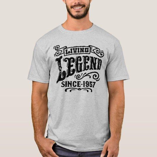 Lebende Legende seit 1957 T-Shirt