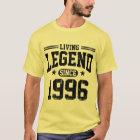 Lebende Legende seit 1996 T-Shirt