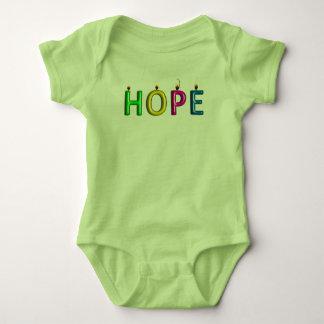 Lebender Beweis des Hoffnungsbabyt-stücks Baby Strampler