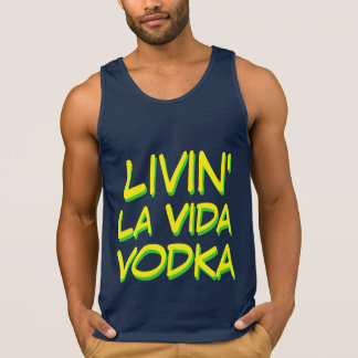 Lebender La vida Wodka Party-Spaß Tank Top