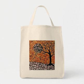 Lebensmittelgeschäft-Taschen-Tasche mit Baum Tragetasche