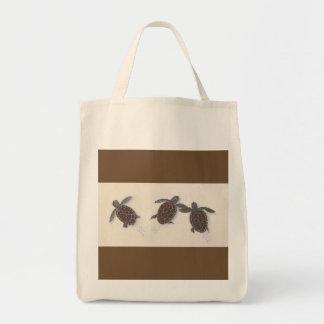 Lebensmittelgeschäfttasche mit drei einkaufstasche