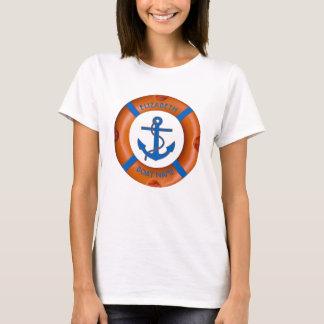Lebensretter mit Anker-und Seeboots-oder T-Shirt