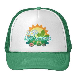 Lebenswerke! Fernlastfahrer-Hut Baseballcaps