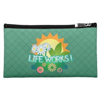Lebenswerke! Mittlere kosmetische Tasche