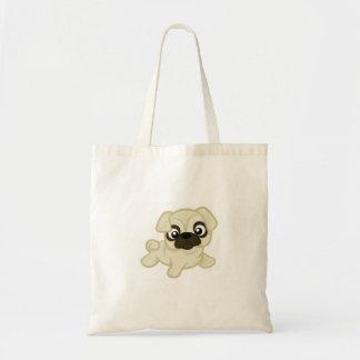 Lebhafte Mops-Taschen-Tasche Tragetasche