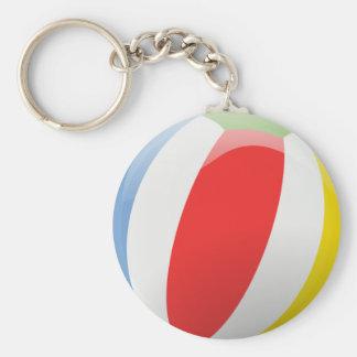 Lebhaftes Wasserball keychain Schlüsselanhänger