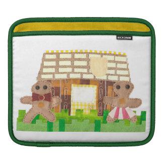 Lebkuchen-Haus-Paare Ich-Auflage Hülse iPad Sleeve