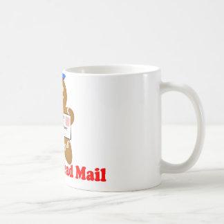 Lebkuchen-Mann-Postzustellung Kaffeetasse