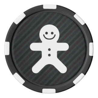 Lebkuchen trägt Piktogramm Pokerchips
