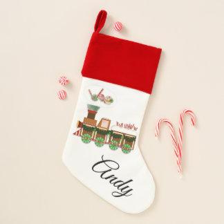 Lebkuchen-und Süßigkeits-Weihnachtszug Weihnachtsstrumpf