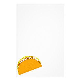 Leckerer Taco Briefpapier