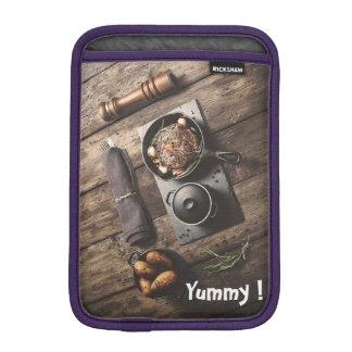 Leckeres hölzernes Rezept Sleeve Für iPad Mini