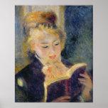 Lecture de fille, 1874 posters