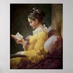 Lecture de jeune fille, c.1776 posters