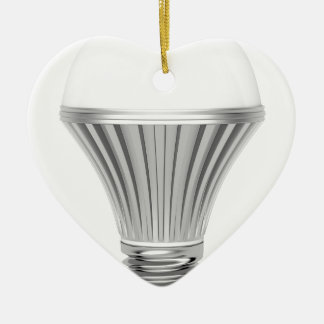 LED-Birne Keramik Ornament
