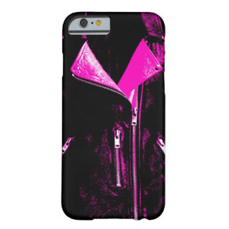 Lederjacke rosa iPhone 6 Fall Barely There iPhone 6 Hülle