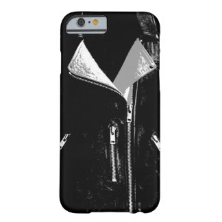 Lederjacke weißer iPhone 6 Kasten Barely There iPhone 6 Hülle