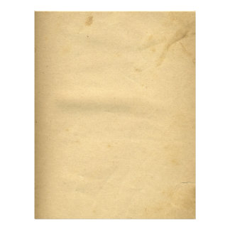 Leere Antike beflecktes 1880's Papier