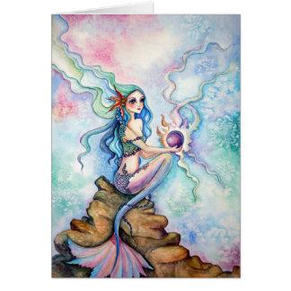 Leere Karte - die Tochter des Ozeans