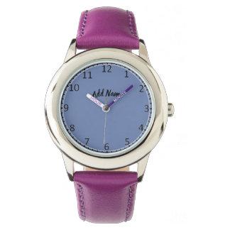 Leere Uhr-Gesichts-Armbanduhr Armbanduhr