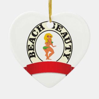 leerer Bb heiß Keramik Ornament