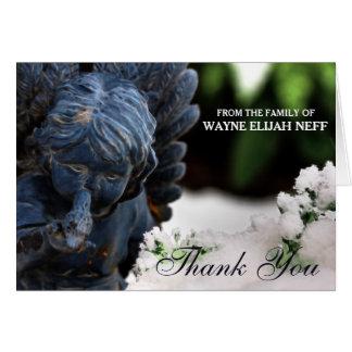 Leeres kundenspezifisches Beileid danken Ihnen Karte